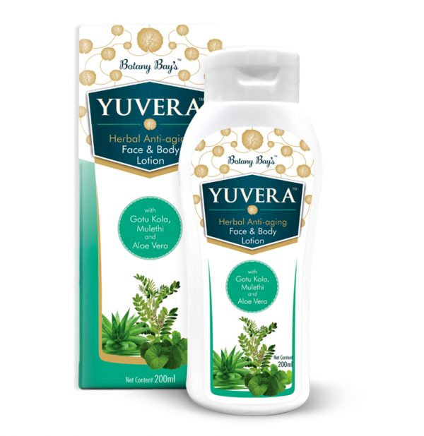 Yuvera Herbal Anti-aging Face and Body Lotion for Women and Men