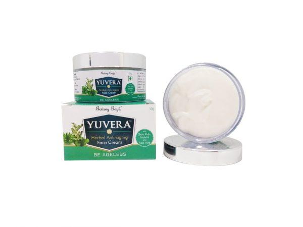 Yuvera Herbal Anti-aging Face Cream for men and women