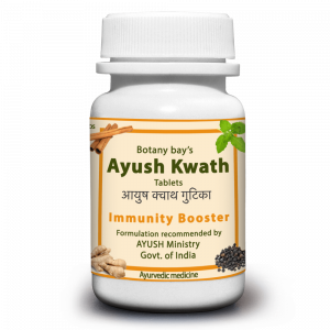 Ayush Kwath Tablets - For common colds, cough and low immunity